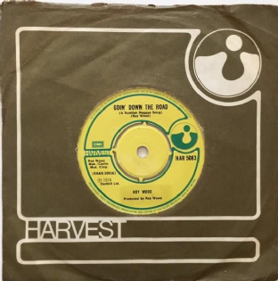 "Roy Wood ‎- Goin' Down The Road (A Scottish Reggae Song) (7"") (VG-/G-)"